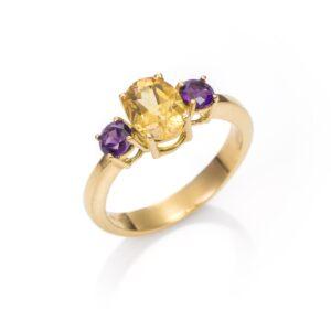 b406d717ef75 Para las que prefieren un anillo grande tenemos sortijas con piedras  naturales.