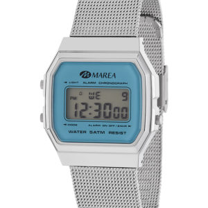 043ccea388fb MAREA Reloj Mujer B35313 5 Digital Retro Azul