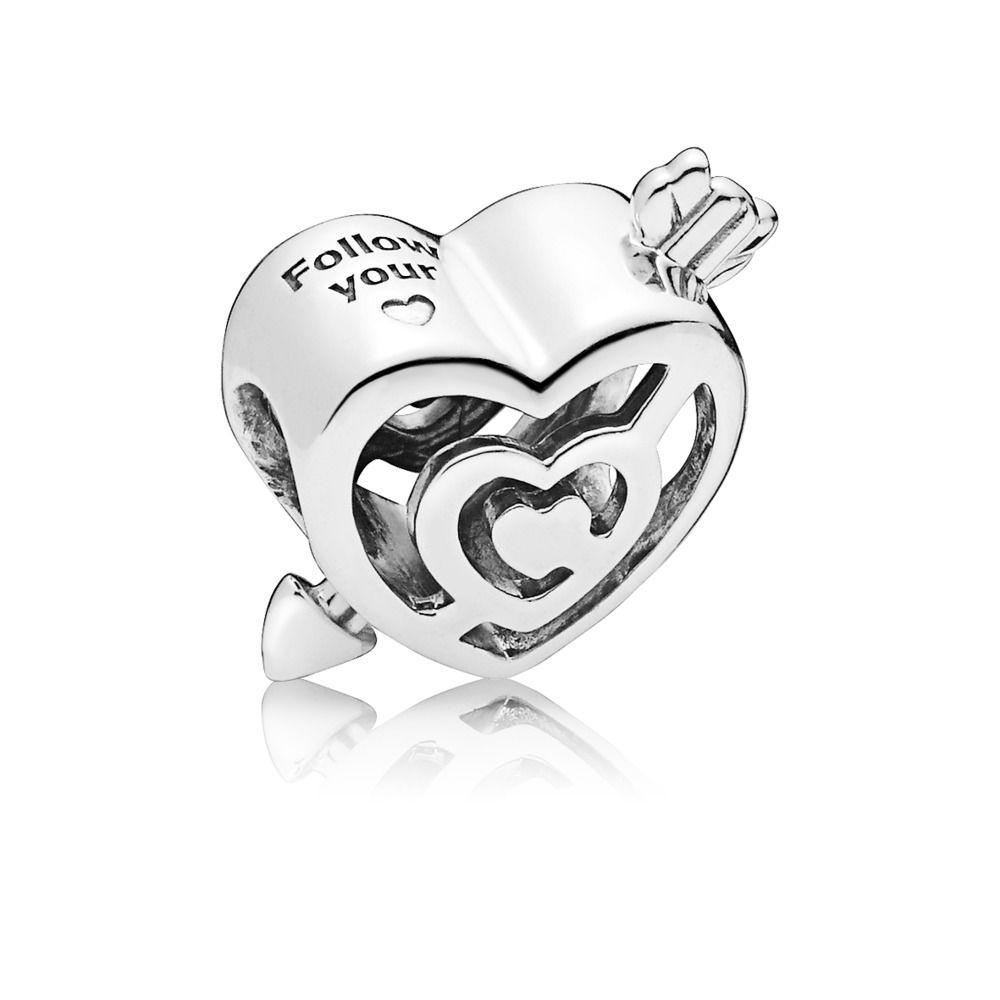 d72fec9ca PANDORA Charm en plata de ley Camino de Amor 797814 - Girbes Joyas